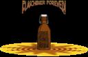 Poster Flaschbier Forever