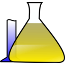 download Chemical Science Experiment clipart image with 180 hue color