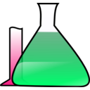 download Chemical Science Experiment clipart image with 270 hue color