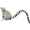 download Lemur Lemurien clipart image with 45 hue color
