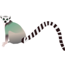 download Lemur Lemurien clipart image with 135 hue color