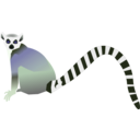 download Lemur Lemurien clipart image with 225 hue color