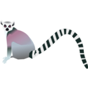 download Lemur Lemurien clipart image with 315 hue color