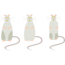 download Rat clipart image with 45 hue color