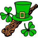 Hat And Shillelagh Colour