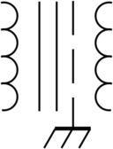 Rsa Iec Transformer Symbol 6