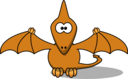 Cartoon Pterodactyl