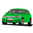 download Opel Astra clipart image with 135 hue color