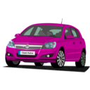 download Opel Astra clipart image with 315 hue color
