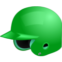 download Baseball Helmet clipart image with 135 hue color