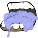 download Mouth Foaming 1 clipart image with 45 hue color