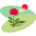 download Flower clipart image with 315 hue color