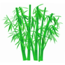 download Bamboo clipart image with 45 hue color