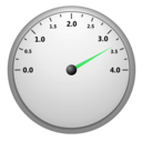 download Speedometer clipart image with 135 hue color