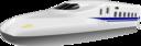 Shinkansen N700 Frontview