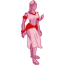 download Fantasy Woman clipart image with 315 hue color
