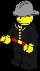 Lego Town Fireman