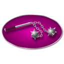 download Morning Star Weapon clipart image with 315 hue color