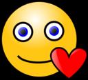 Emoticons Loving Face