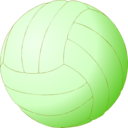 download Volleyball clipart image with 45 hue color