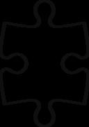 Piece Of Puzzle Symetric