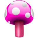 download Mushroom One clipart image with 315 hue color