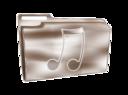 Folder Icon Plastic Music