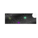download Firework clipart image with 225 hue color