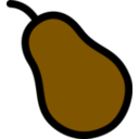 download Pear Icon clipart image with 315 hue color