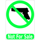 download Not For Sale clipart image with 135 hue color