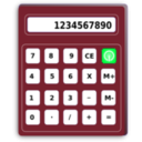 download Calculator clipart image with 135 hue color
