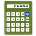 download Calculator clipart image with 225 hue color