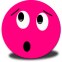 Embarrased Smiley Pink Emoticon