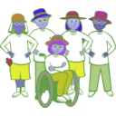 download Sunsquad Group clipart image with 225 hue color