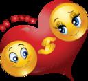 Be Mine Couple Smiley Emoticon Valentine