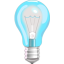 download Light Bulb On clipart image with 135 hue color