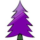 download Tree Icon clipart image with 135 hue color