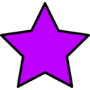 download Yellow Star clipart image with 225 hue color
