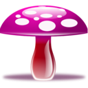 download Mushroom clipart image with 315 hue color