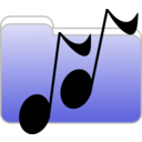 download Music Folder Icon clipart image with 45 hue color