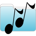 download Music Folder Icon clipart image with 0 hue color