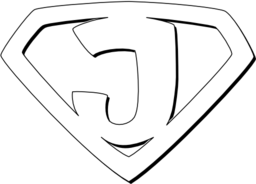 Super Jesus Outline