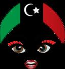 Pretty Libyan Girl Smiley Emoticon