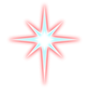 download Star clipart image with 135 hue color