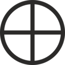 Mundane Cross Encircled