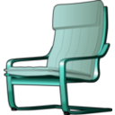 download Armchair 2 clipart image with 135 hue color