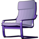download Armchair 2 clipart image with 225 hue color