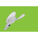 download Dove clipart image with 225 hue color