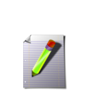 download Notepad clipart image with 45 hue color
