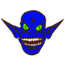 download Ice Goblin clipart image with 45 hue color